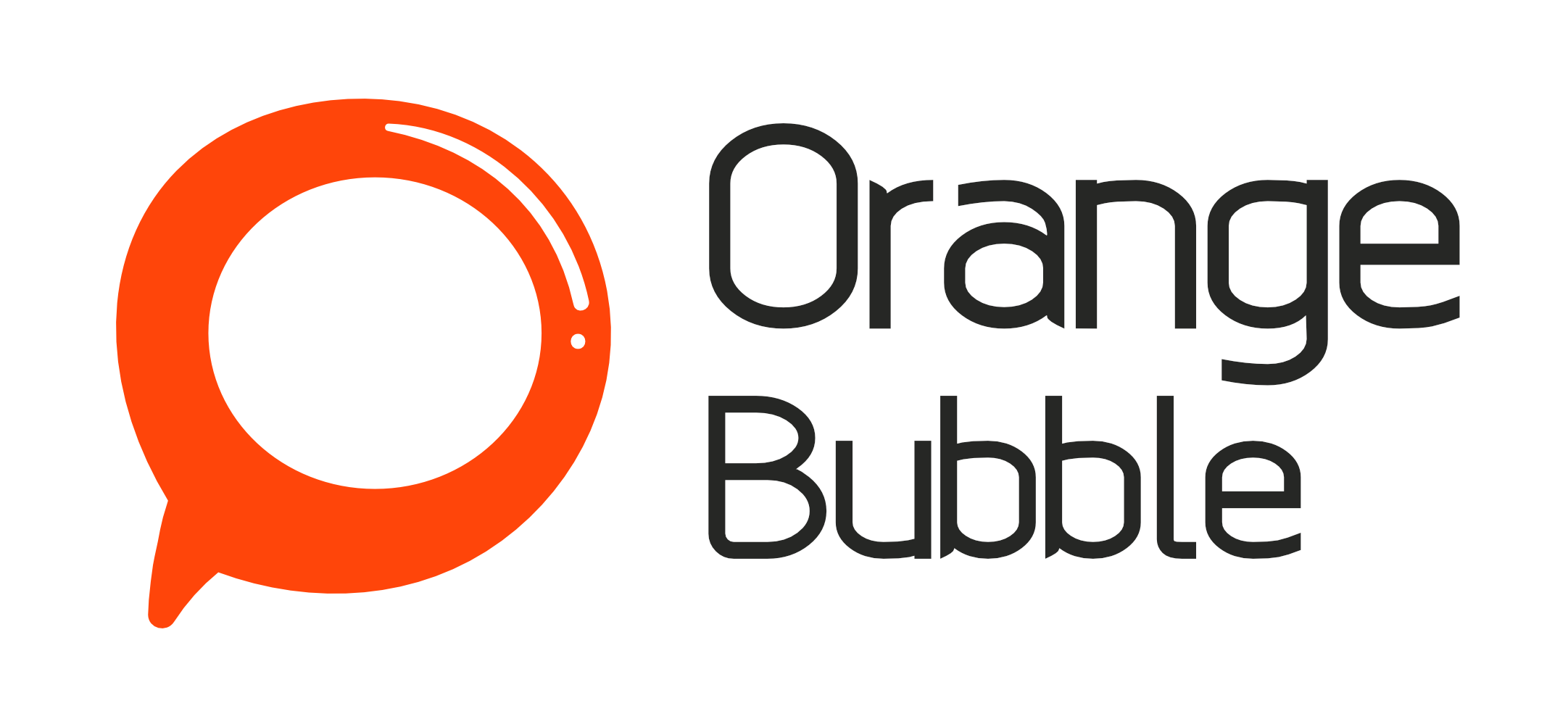 Orange Bubble